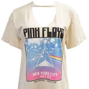 Tops - Pink Floyd Cut-out top